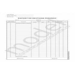 Raport de Gestiune Periodic, Carnet A4, 1 Ex., 100 File