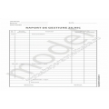 Raport de Gestiune Zilnic, Carnet A4, 1 Ex., 100 File, Offset