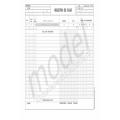 Registru de Casa, Carnet A4, 2 Ex., 50 Seturi, Autocopiativ
