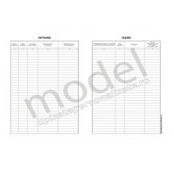 Registru Intrare-Iesire, Carnet A4, 1 Ex., 100 File