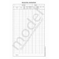 Registru Inventar, Carnet A4, 1 Ex., 100 File, Offset
