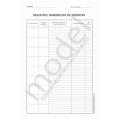Registrul Numerelor de Inventar, Carnet A4, 1 Ex., 100 File